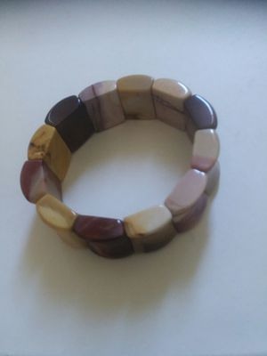 Ladies gemstone agate multicolored bracelet. for Sale in San Francisco, CA