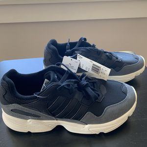 Adidas Yung-96 Core Black Gray Off White Shoes Size 9 for Sale in Ithaca, NY