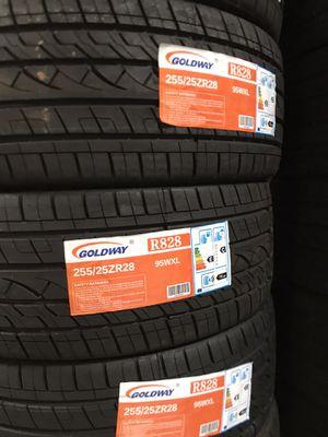 255-25-28 TYRES @wholesale prices—WE DELIVER ONLY for Sale in Anaheim, CA