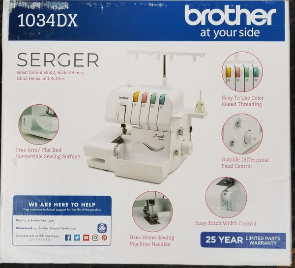 Brother Serger Sewing Machine
