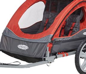 Instep Bike Trailer for Kids, Single and Double Seat, Red for Sale in Concord,  CA