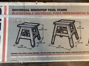 RIDGID Universal Benchtop Tool Stand for Sale in San Bernardino, CA