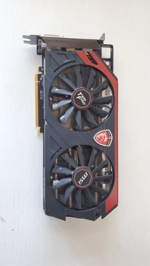 PC Graphics Card - MSI R9 290 Gaming 4G for Sale in Monterey, CA