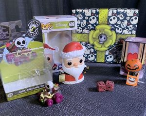Funko Pop Nightmare Before Christmas Box for Sale in Houston, TX
