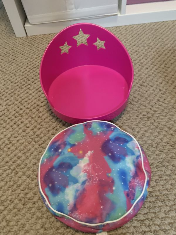 American Girl Galaxy Pet Bed Like New!
