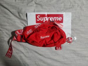 Supreme SS18 Red Cordura Fanny Pack/Waist Bag for Sale in Las Vegas, NV