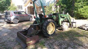 750 John Deere w/loader & backhoe for Sale in Paragould, AR