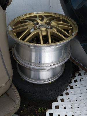 """3 - 15"""" Gold Rims for '98 Acura Integra for Sale in Valley Stream, NY"""