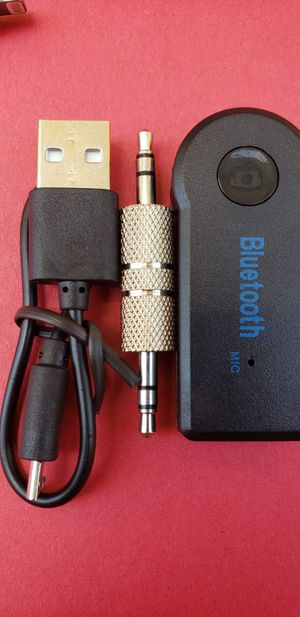 Bluetooth Car Aux Audio Stereo Music Adapter Receiver 3.5mm for Sale in Lynwood, CA
