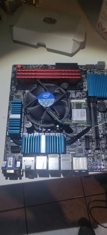 Motherboard Ram Cpu Combo i3570k