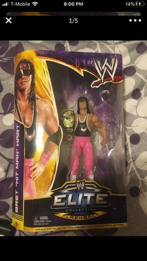 WWE ELITE FIGURES Bundle Daniel Bryan, Antonio Cesareo,the rock,brodus clay, Bret hart for Sale in Arlington, TX
