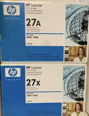 HP C4127A & C4127X Laserjet Toners 4000 - 4050 for Sale in Gresham, OR