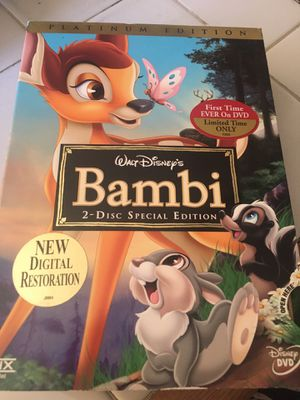 DVD Bambi 2-Disc special edition for Sale in Riverside, CA