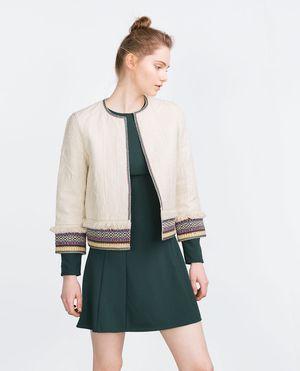 Zara Ethnic Embroidered Blazer for Sale in Palatine, IL
