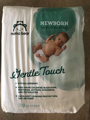 $10 for 60 Newborn diapers for Sale in Yorba Linda, CA