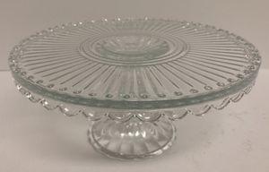 Glass Cake Plate for Sale in Pembroke Pines, FL