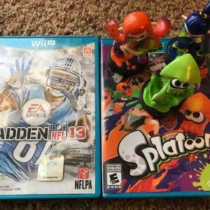 Nintendo Wii U Games and Amiibo Figures for Sale in Chandler, AZ