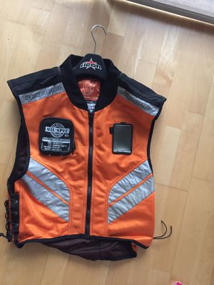 ICON reflective Motorcycle Vest Size Regular for Sale in Chicago, IL