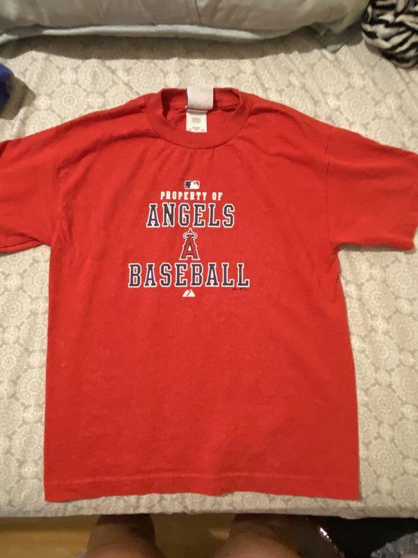 Angles baseball tee M