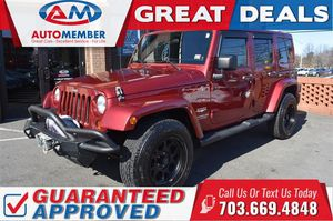 2011 Jeep Wrangler Unlimited for Sale in Leesburg, VA
