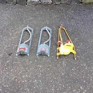 Lot of three lawn and garden sprinklers Nelson for Sale in Concord, MA