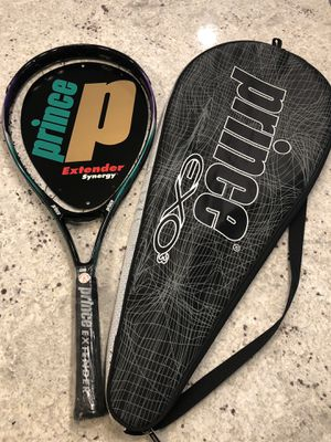 "Prince Synergy Extender CTS Tennis Racquets Racket 4 1/8"" grip for Sale in Arlington, VA"
