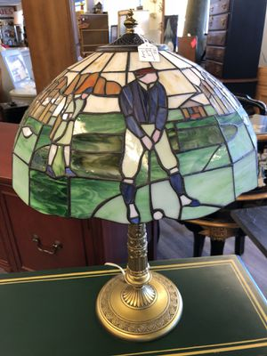 Tiffany Style Golf Lamp for Sale in High Ridge, MO
