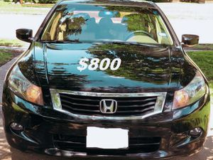 🍁🍁$8OO No mechanical problems 2OO9 Honda Accord Clean title🍁🍁 for Sale in Washington, DC
