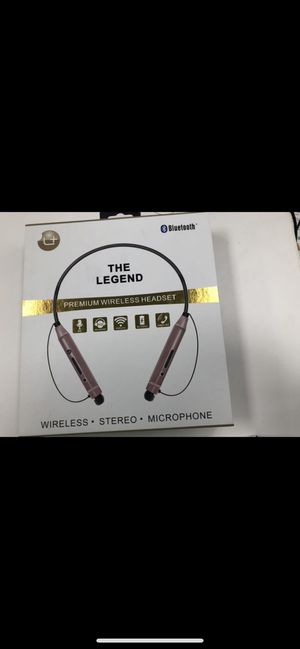 Premium wireless Bluetooth headset for Sale in Friendswood, TX