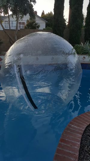 Brand new walk on water zorb. Just filled with air for the display. for Sale in La Mirada, CA
