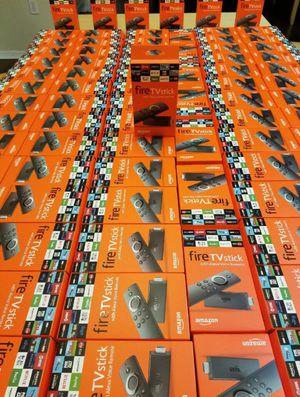 Unlocked Amazon Fire TV Stick Fully Loaded Jailbroken for Sale in Las Vegas, NV