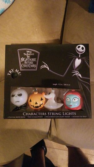 Nightmare before christmas singing lights for Sale in Corona, CA