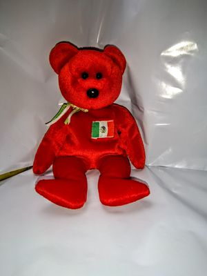 TY Beanie Babies Osito Mexican Flag Red Teddy Bear Animal plush toy for Sale in New York, NY