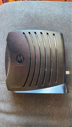 Motorola Surfboard Modem for Sale in Tacoma, WA