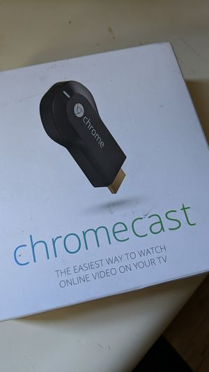 Google Chromecast 2013 Unopened for Sale in Baltimore, MD