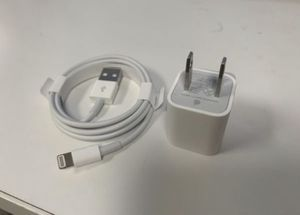 Apple Cable (USB to Lightning) and Wall Adapter for Sale in Framingham, MA
