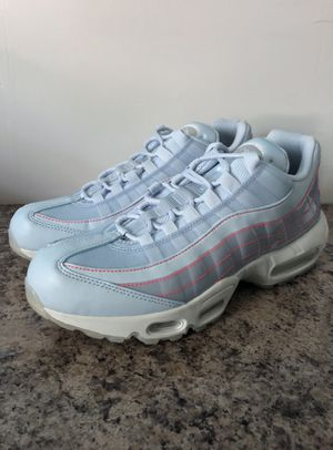 Nike Air Max 95 SE Half Blue Summit White Womens Shoes Size 10.5 918413-400 for Sale in Bristol, PA