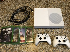 XBOX One S 1tb console controllers cords and games for Sale in Lockhart, FL