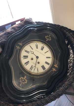 Antique French Baker's Clock for Sale in Los Angeles, CA