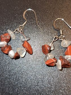 Moonstone And Jasoer Earrings for Sale in Magna,  UT