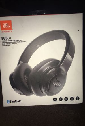 Bluetooth headphones JBLE55BT for Sale in Jenkintown, PA