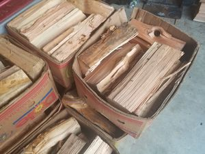 Boxes of dry-seasoned firewood (Ask about delivery) for Sale in Tacoma, WA