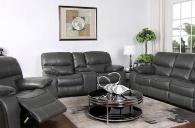 NEW MODERN MADRID RECLINING SOFA, LOVESEAT AND CHAIR. SAME DAY DELIVERY! NO CREDIT CHECK FINANCING $49 DOWN! for Sale in St. Petersburg,  FL