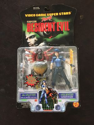 1998 Toy Biz Capcom Resident Evil Action Figure - Jill Valentine Web Spinner for Sale in Houston, TX