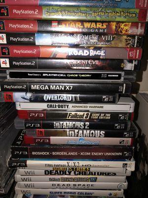 Video games sale part 2 for Sale in Arlington, TX