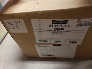 Projector Screen DA-LITE 21812LSR for Sale in Lynnwood, WA