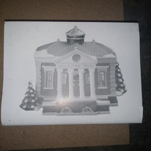 Department 56 Village Public Library # 5443-7 for Sale in Crystal Lake, IL