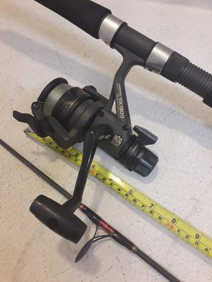Shimano TX130Q Spinning Fishing Reel & Penn Spinfisher Big Game Surf SBG-6807 M 2Piece 7ft Rod Combo for Sale in Norwalk, CT