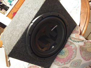 MEMPHIS 12 IN SUBWOOFER BOX for Sale in Quincy, IL