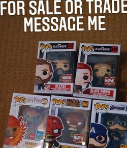 Marvel And Harry Potter Pops Read Description for Sale in Palmdale,  CA